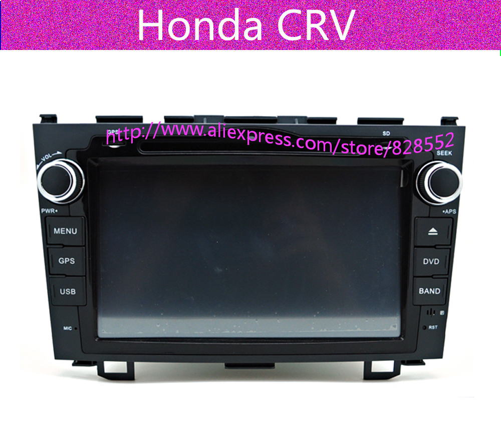 Free Shipping autoradio dvd player For Honda CRV 2006 2007 2008 2009 2010 2011 With gps ...