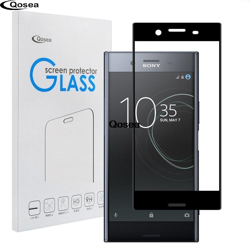 Pour Sony Xperia XZ Prime En Verre Trempé 9 H Électrolytique 4D avant Complet Film Ultra Pour Sony Xperia Écran XZ protecteur