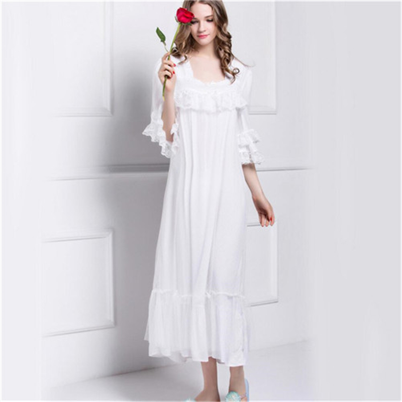 Сон платье белое длинное