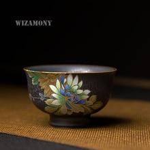 Chinese Color Emboss Peony Master Cup Drinkware Porcelain Teacups teapot Tea Cup Teacup Bowl China teaset Tea Pot Tea Set