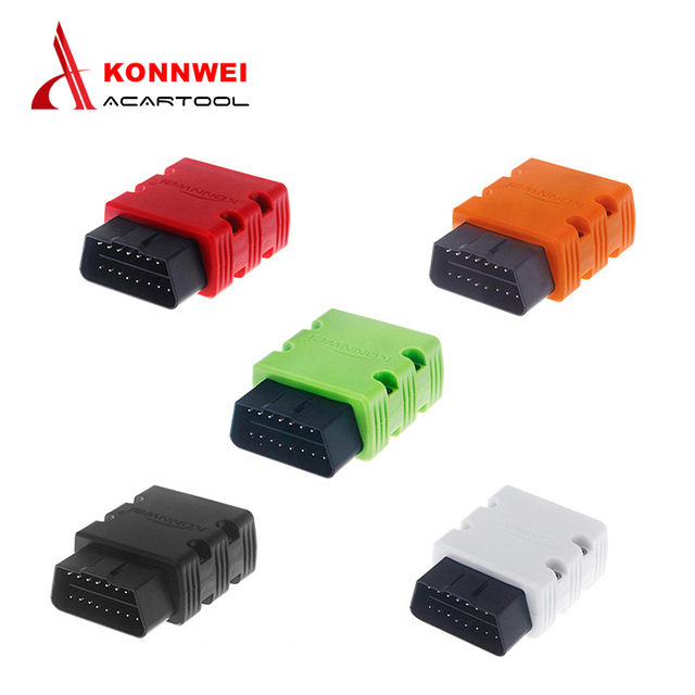 Newest Konnwei KW902 mini ELM327 Bluetooth OBDII Car Diagnostic Scan Tool Elm327 OBD2 code reader scanner Support J1805 Protocol