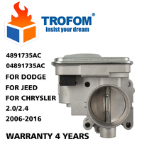 Throttle Body Assembly For DODGE AVENGER JOURNEY CALIBER JEEP PATRIOT COMPASS CHRYSLER 200 4891735AC 04891735AC 4891735