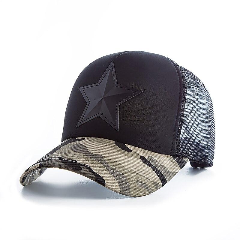 04b63d07fbc3b discount code for star camouflage mesh baseball cap swag snapback desert  camo hat for men cap