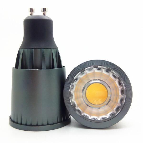 10 шт./лот MR16 GU10 8 Вт Светодиодный точечный светильник 3 Вт 6 Вт 8 Вт 10 Вт COB Светодиодный прожектор с регулировкой яркости вниз светильник 700lm-800lm AC85-265V