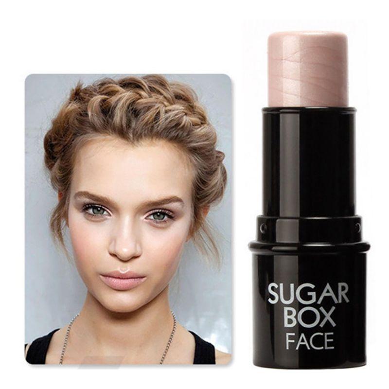 Face Highlighter Makeup Stick Shimmer Highlighting Powder Cream Brighten Light Bronzer Sugar Box Brand New