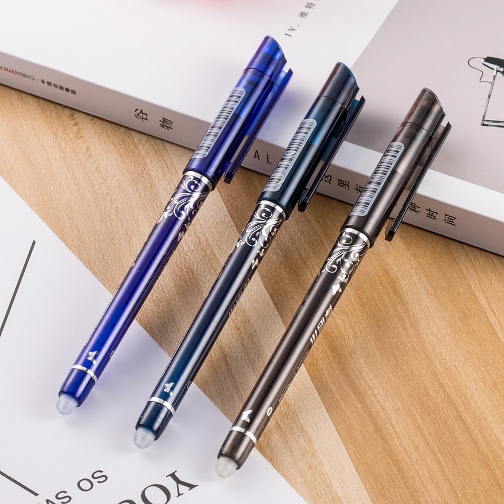 1 шт для ручки со стираемыми чернилами синего/черного/чернильный синий волшебная ручка канцелярские принадлежности студенческий экзамен ...