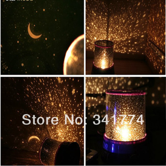 Novelty LED Planetarium Night Lights Starry Sky Star Master Projector Lamp  Luminarias Gift For Kids Bedroom