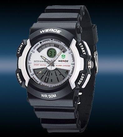 2012 free shipping hot sale new fashion Men LCD Digital Watch Sport Quartz Wristwatch