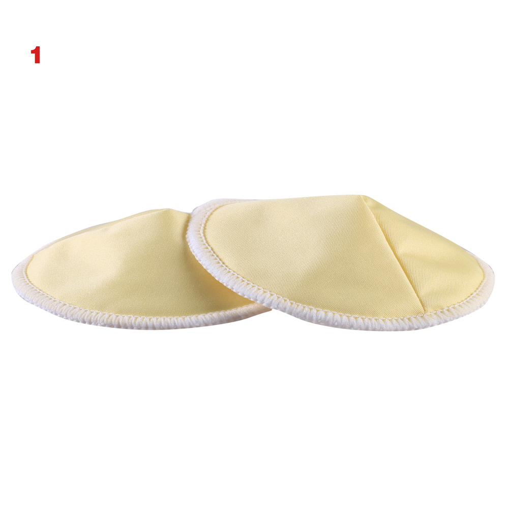 10Pcs Bamboo Breast Nursing Pad Mommy Waterproof Washable Feeding Reusable 3 Layers Thick Pads BM88
