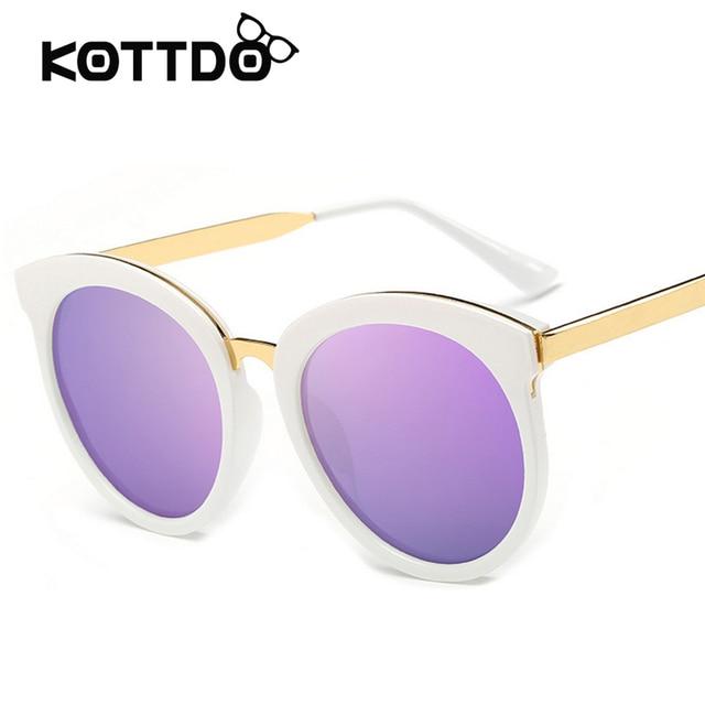 de403056f3 Big Round Sunglasses Brand Designer Purple Metal Frame Vintage Sun glasses  Women Glasses Sunnies Shades oculos de sol feminino
