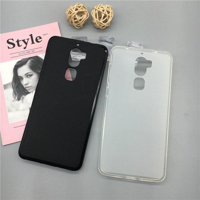 Case Miękkiego silikonu Telefon Para dla Letv Leeco Le Fajne 1/Coolpad Cool1 Luksusowe TPU Fundas Pełna Pokrywa Shell Czarny Przypadki Coque