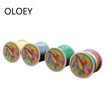 OLOEY PE Braided Wire Fishing Line 4 Strands 0.10mm-0.40mm 9-107lb Japan Strong Multifilament Fiber Fishing Line Fish Rope Cord