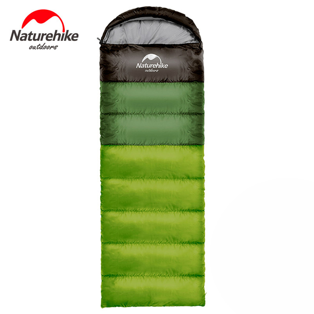 Naturehike Outdoor camping adult Sleeping bag waterproof keep warm three season spring summer sleeping bag for Camping Travel 1