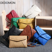 Small Bags for Women 2018 Messenger Bags Leather Female Newarrive Sweet Shoulder Bag Vintage Leather Handbags Bolsa Feminina(China)