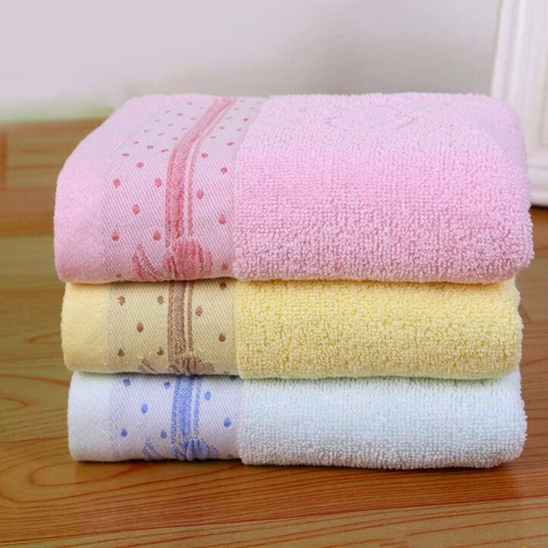 top sale 1 piece butterfly printing soft comfortable face hand towel brand bath towel water. Black Bedroom Furniture Sets. Home Design Ideas