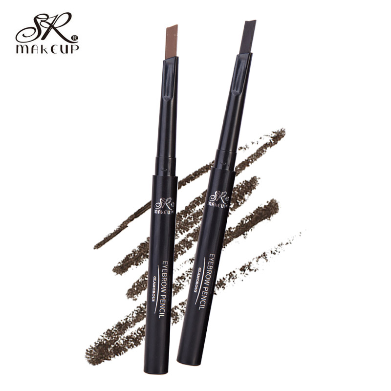 1 Pcs Automatic Eyebrow Pencil Makeup 5 Colors Paint For