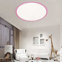Led Ceiling Lights round lamp living room simple modern bedroom lamp warm romantic balcony lighting