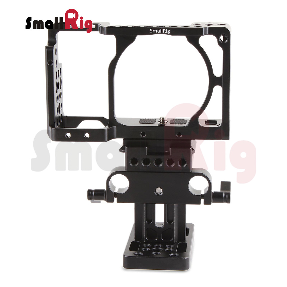 SmallRig Camera Cage Kit (Arca Swiss) for SONY A6000 A6300 A6500 ILCE-6000 ILCE-6300 ILCE-6500 NEX7-1727 new version smallrig cage for sony a6300 a6000 a6500 ilce 6000 ilce 6300 ilce a6500 sony nex 7 cage 1661