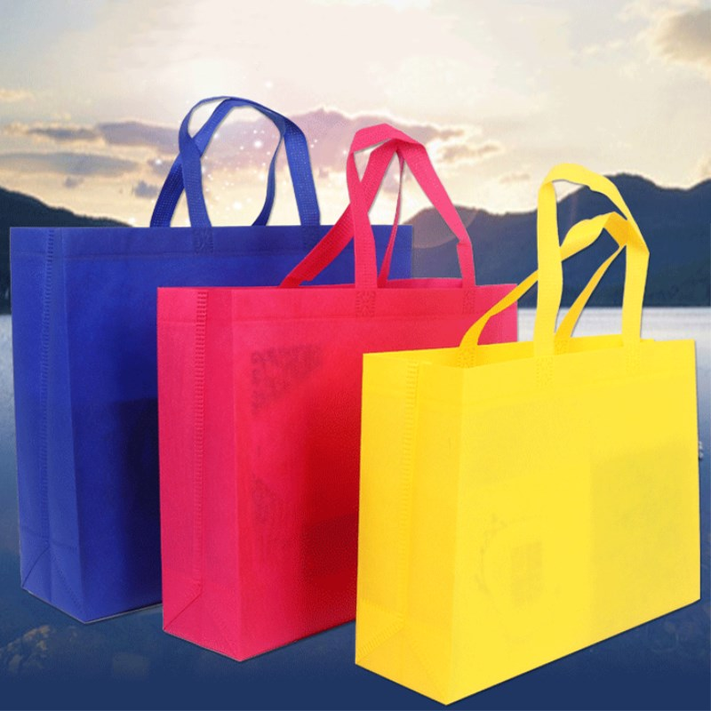 ETya 1PCNon-woven Women Shopping Bags Reusable Large Capacity Canvas Travel Storage Bags Durable Female Handbag Tote Shopper Bag