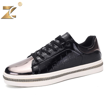 Z 2017 Superstar Famous Brand Glossy Gold Men Casual Shoes Fashion Walking Breathable Outdoor Flat Casual Shoes zapatos casuales