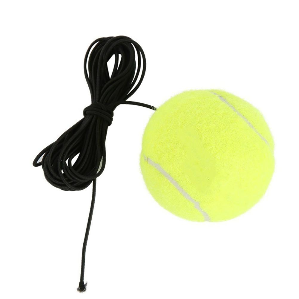 Elastic Rubber Band Tennis Ball Single Practice Training Belt Line Cord Tool 12