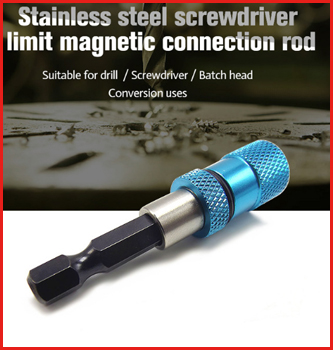 GooGou 15.7 Inch Metal Flexible Screwdriver Extension Drill Bits