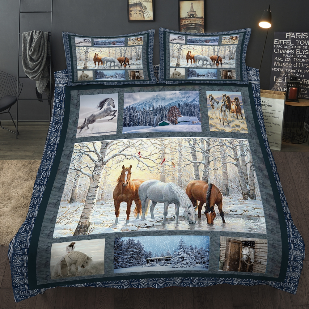 3D Animal/Horse Bedding Set Duvet cover set With Pillow case Quilt cover UK Double AU Single Size Queen King Twin Full All Sizes3D Animal/Horse Bedding Set Duvet cover set With Pillow case Quilt cover UK Double AU Single Size Queen King Twin Full All Sizes