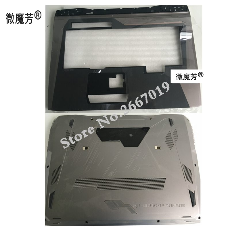 NEW Laptop Bottom Base Case Cover Door For ASUS GX800 GX800VG D shell/Palmrest COVER 13N0-U6A0B11 13NB0BI0AP0211 original new 15 6laptop lower case for hp omen 15 5000 series bottom cover base shell 788598 001 empty palmrest 788603 001