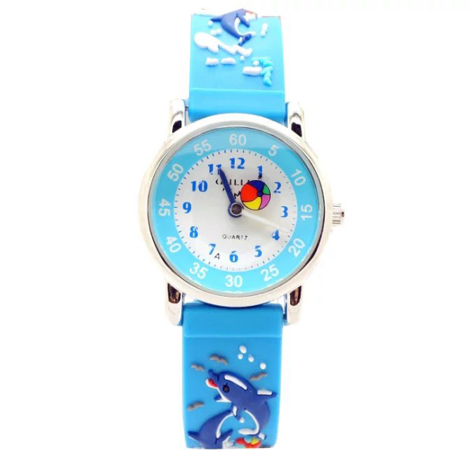 WILLIS WHALE Shark silicone Strap children Watch 3D CARTOON Watch Waterproof plastic shell цена 2017