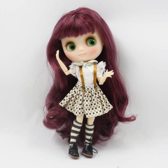 Lovely Lace Dress with Socks For Middie Doll
