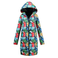 Winter Coat Women Womens Winter Long Down Cotton Ladies Parka Hooded Coat Quilted Jacket Outwear Ropa Mujer Invierno D118 10