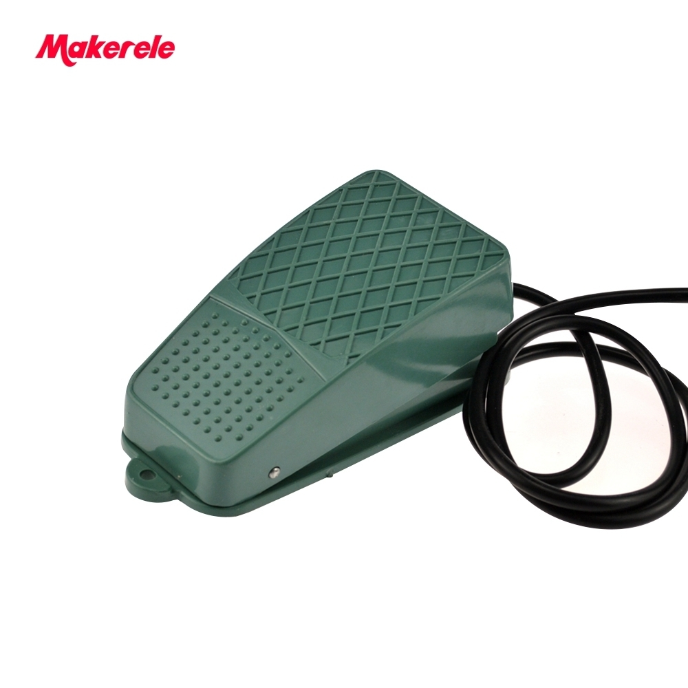 high temperature resistant Antislip wired momentary foot switch for medical MKTFS-102 free shipping low cost best quality 10A