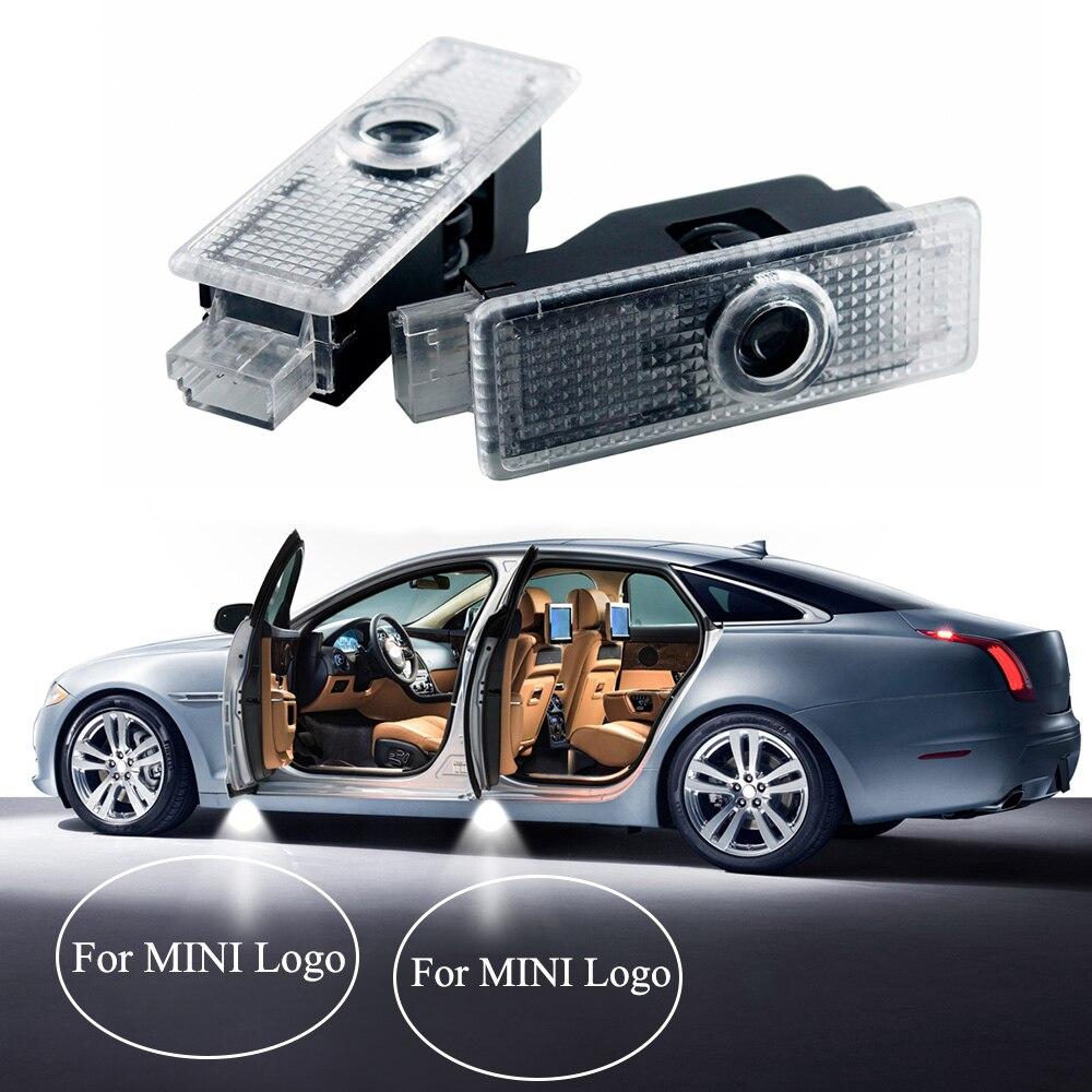 car led courtesy emblem light for mini cooper r55 r54 r60. Black Bedroom Furniture Sets. Home Design Ideas