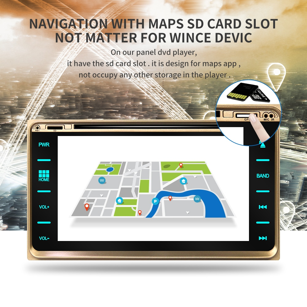 Perfect IPS touch screen DSP sound Android 9.0 2 DIN 4g Lte radio For JEEP Grand Cherokee GPS DVD player stereo navigation 4