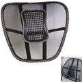 Nuevo Asiento de Coche Silla de Oficina Masaje Volver Ayuda Lumbar Mesh Ventilar Cushion Pad Negro alta tamaño grande Envío Gratis