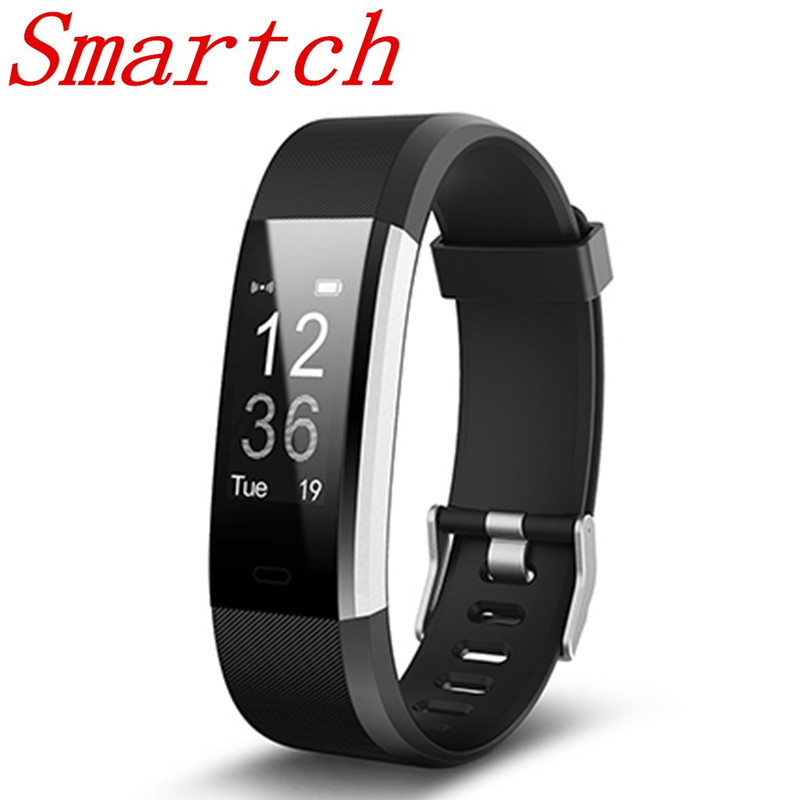 Smartch ID115 Plus Fitness APP GPS Activity Tracker Smart Bracelet HR Sleep  Monitor Smart Band BT Camera and Music Remote Contro