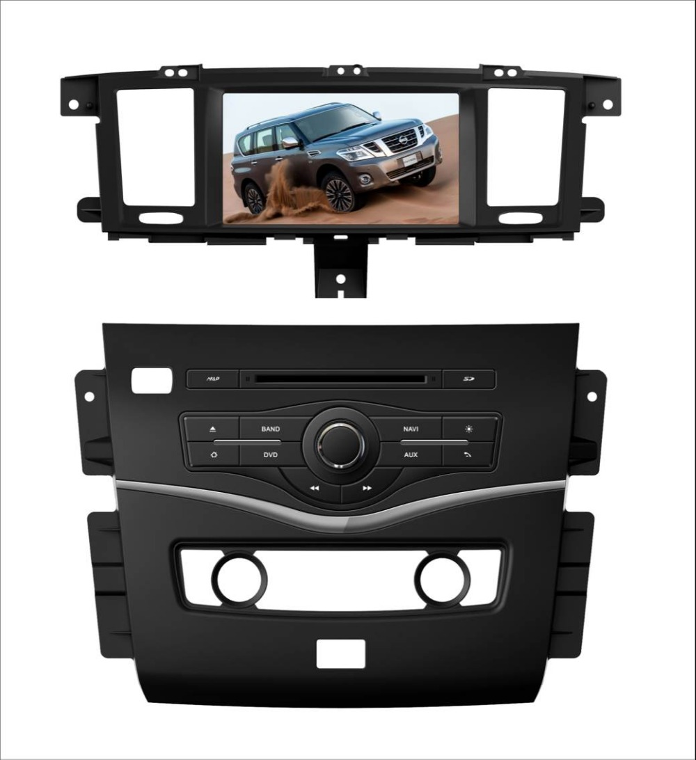 MTK3360 512Mb faster speed WINCE 6.0 car DVD player gps for Nissan Patrol 2014 2015 radio bluetooth map camera autoradio
