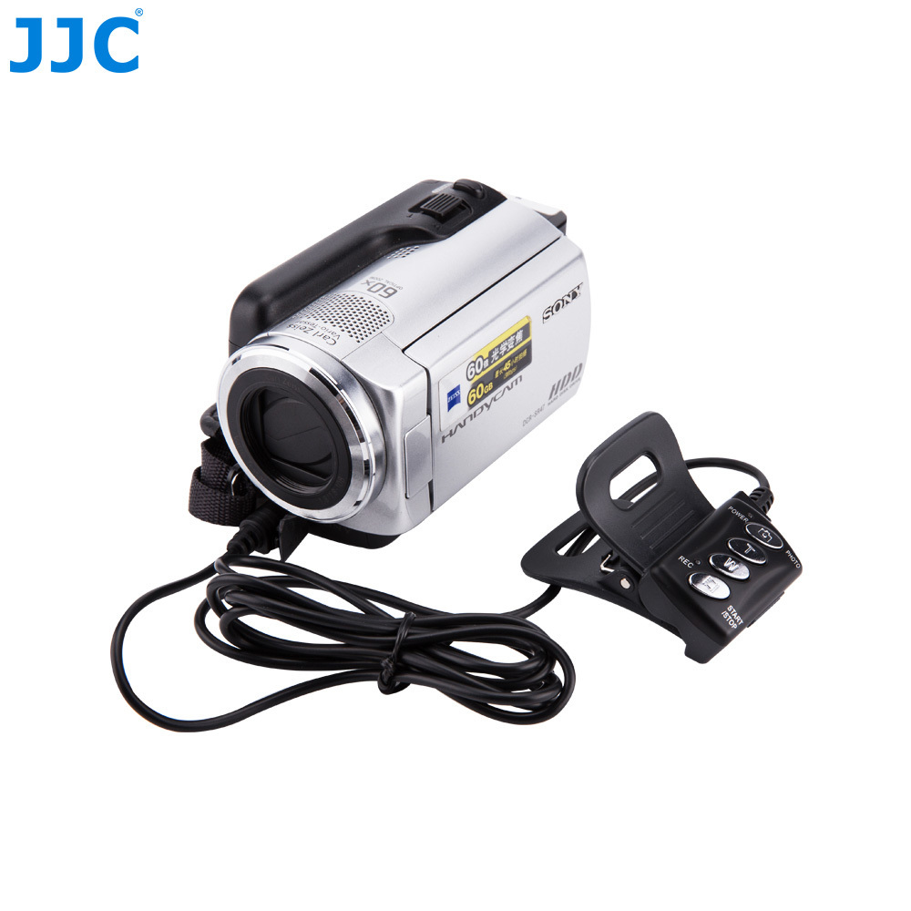 JJC Remote Control Photograph Video Controller DV For SONY Handycam Camcorders With A/V Connector Replaces RM-AV2