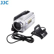 JJC uzaktan kumanda fotoğraf Video denetleyici DV SONY Handycam kameralar A/V konnektörü yerine RM AV2