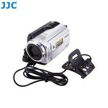 Jjc controle remoto dv para fotografia, controle remoto para câmeras sony handycam, com conector a/v, substituição RM AV2