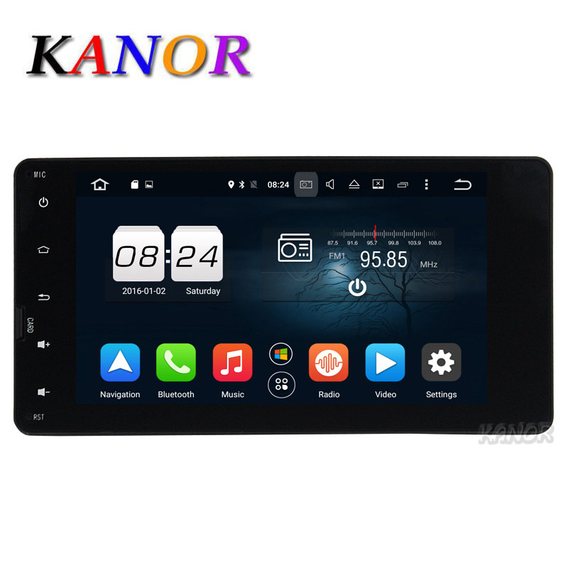 KANOR Octa Core Android 6.0 2G Car Video Player For Mitsubishi Outlander 2013 2014 With GPS Headunit 7″ 1024*600 Bluetooth