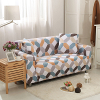 Universal Sofa Slipcovers for Living Room Corner Armchair Plaid Euro Sofa Protector 1/2 /3 /4 Seats Sectional/ l shaped sofa