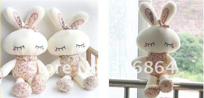 Оптом и в розницу плюшевые игрушки кролик мягкие игрушки Рождественский подарок заводская поставка