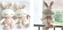Wholesale and retails plush toys rabbit soft toys stuffed toys Christmas gift factory supply freeshipping