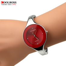 Watch Women Coolboss luxury brand Fashion Casual quartz Unique Stylish bracelet watches sport Lady women's wristwatches