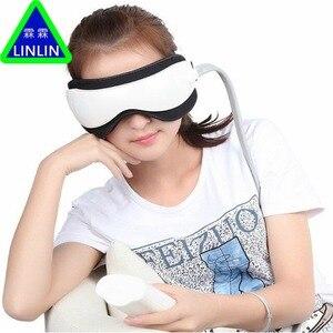 Image 3 - LINLIN luchtdruk Eye massager met Muziek functies. Magnetische ver infrarood verwarming Trillingen therapie bijziendheid breo pangao massage