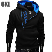 6XL Fashion Brand Hoodies Men Sweatshirt Tracksuit Male Zipper Hooded Jacket Casual Sportswear Moleton Masculino Assassins