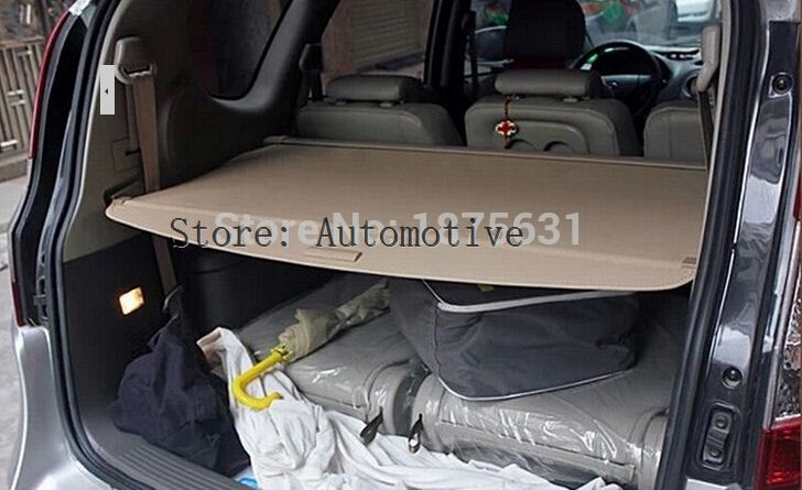 Rear Trunk Security Shield Cargo Cover For Hyundai Santa Fe 7 Seat 2006 2007 2008 2009 2010 2011 2012 Black Beige Armrests Aliexpress