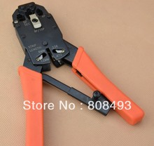 Network Tool RJ10 7.65mm, RJ11/12 9.65mm , FJ45 11.68mm Crimping pliers Wire pliers(China)