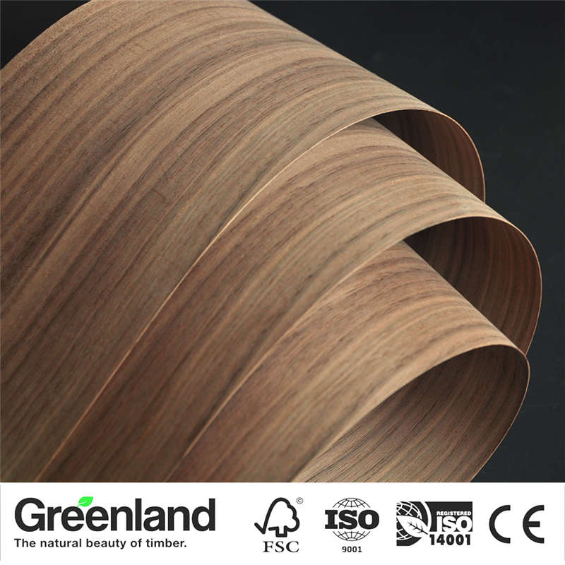 American Walnut(C.C) Wood Veneers Flooring DIY Furniture Natural Material Bedroom Chair Table Skin Size 250x20 Cm Natural